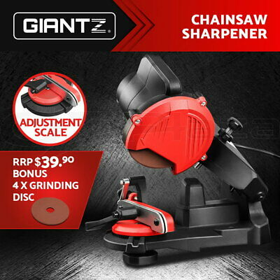 AU42.95 • Buy GIANTZ Chainsaw Sharpener Chainsaws Electric Chain Tools Saw Grinder Bench Tool