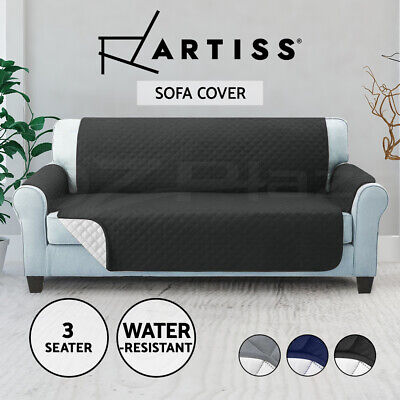 AU24.90 • Buy Artiss Sofa Cover Quilted Couch Covers Protector Slipcovers 1 2 3 Seater Pet Dog