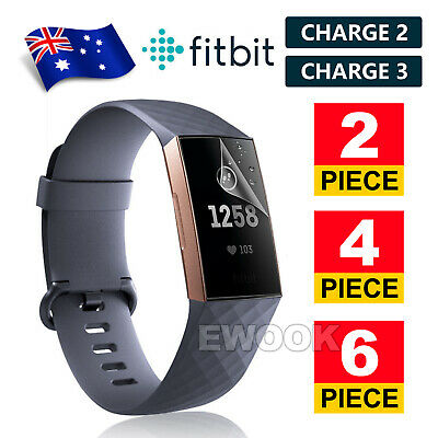 AU3.35 • Buy For Fitbit Charge 3 / Charge 2 Screen Protector TPU HD Full Coverage Real Film