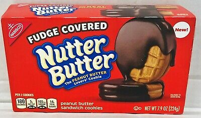 Nabisco Nutter Butter Fudge Covered Peanut Butter Sandwich Cookies 7.9 Oz • 4.44£