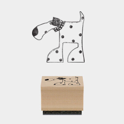 East Of India: Rubber Stamp Collection - Oscar Standing Dog • 1.95£