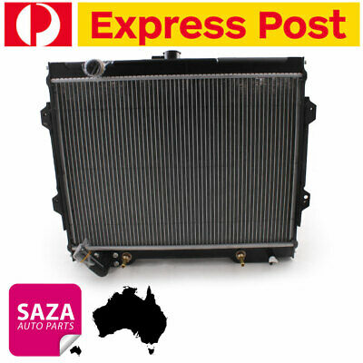 AU288.49 • Buy Radiator For Mitsubishi Triton ME-MJ 3.0L Petrol V6 86-96 (In/Outlet Same Side)