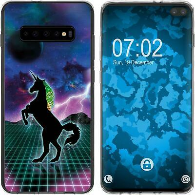 Case For Samsung Galaxy S10 Plus Silicone Case Retro Wave M2 Cover • 8.90£