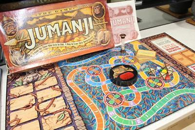 AU61.62 • Buy Original JUMANJI Board Game ~ Complete