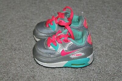 e402d53ef33c INFANT TODDLER GIRL NIKE AIR MAX TENNIS SHOES Sz2C 408112-065 • 10.87