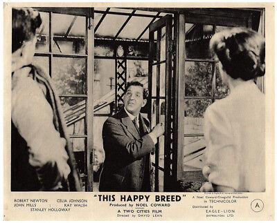 This Happy Breed Original 8x10 Lobby Card 1944 Stanley Holloway In Scene • 39.52£