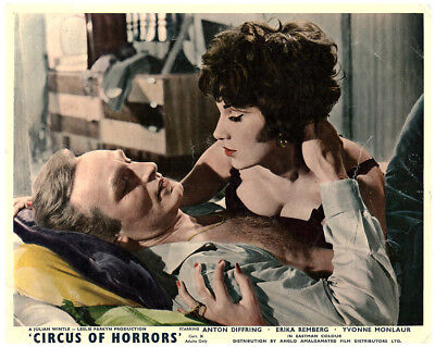 AU48.93 • Buy Circus Of Horrors Original Lobby Card Yvonne Romain Anton Diffring In Bed