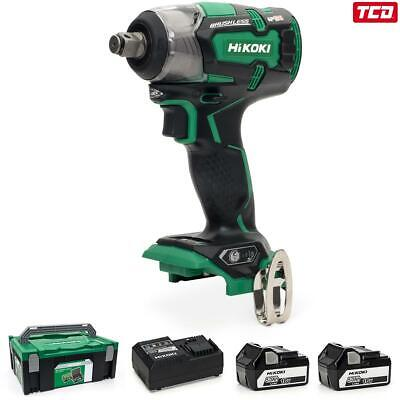 HiKOKI WR18DBDL2/JA 18V Cordless Impact Wrench Kit - 2 X 5.0Ah • 299£