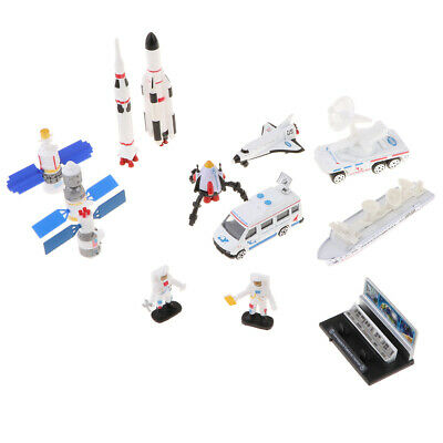 Alloy Models Space Shuttle Rocket Aircraft Spacecraft Kit 1:64 Kids Toys • 8.58£