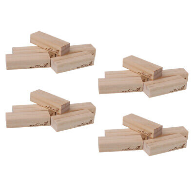 £15.36 • Buy 20pcs Wedding Table Number Name Place Card Restaurant Menu Holders Wooden