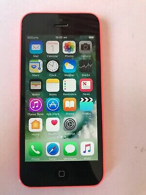 AU159 • Buy Apple IPhone 5c - 16GB - Pink Unlocked A1529 AU Stock PERFECTLY WORKING