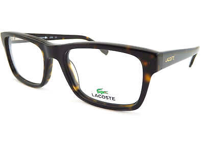 62b3fc4db5f LACOSTE Unisex Dark Brown Havana 53mm Spectacles Optical Glasses Frame  L2740 214 • 76.72