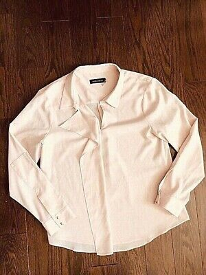 $ CDN29.99 • Buy Ivanka Trump Blouse - Baby Pink Color - Size Large