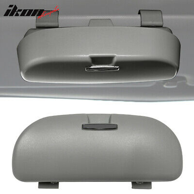 $8.35 • Buy Universal Grey Sunglasses Holder Organizer Case Storage Sun Visor Mounted Box