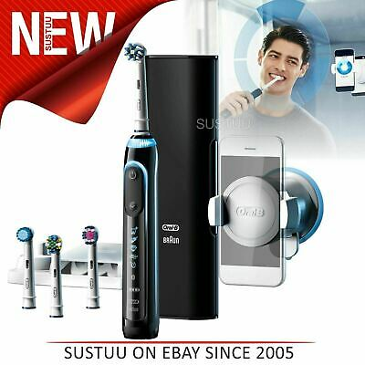 AU331.28 • Buy Oral-B Genius Pro9000 CrossAction Electric Rechargeable Toothbrush│LED SmartRing