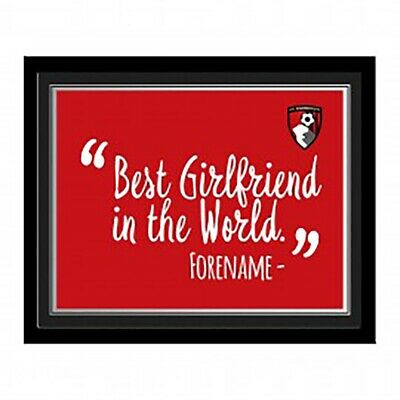 A.F.C Bournemouth - Personalised Print (BEST ? IN THE WORLD) • 29.99£