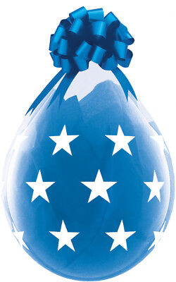 Qualatex 18  Clear Stuffing Balloons Big Stars For Stuffing Machines • 4.99£