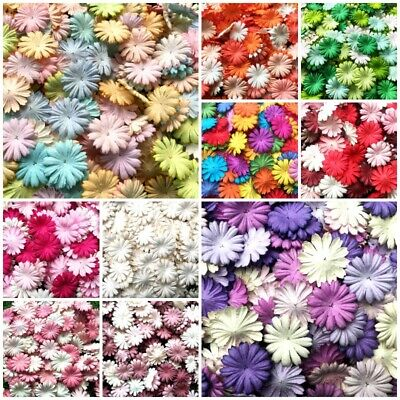 Daisy Flowers Mulberry Paper Petal Scrapbooking & Paper Crafts Wedding Card Gift • 5£