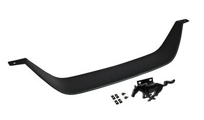 $74.92 • Buy 1999-2004 Mustang Mach 1 Front Grille Delete Kit W/ Gloss Black Running Horse