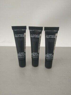 Lot Of 3 M.A.C Prep + Prime 24-Hour Extend Eye Bases 0.40 FL OZ • 42.91£