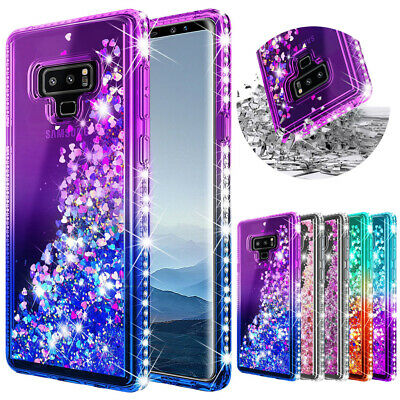$ CDN5.04 • Buy Fr Galaxy A10e/Note10/9/S9/S10 Plus/S20 Plus Ultra 5G Bling QuickSand Case Cover