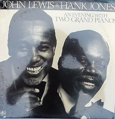 AU18.95 • Buy John Lewis & Hank Jones ORIG Sealed US LP Evening With Two Grand Pianos '79 Jazz
