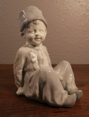 $ CDN177.60 • Buy Antique Gebruder Heubach Porcelain Dutch Boy Sitting Figurine