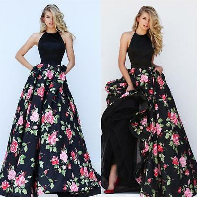 $13.69 • Buy Womens Long Formal Prom Dress Cocktail Party Ball Gown Evening Bridesmaid Dress