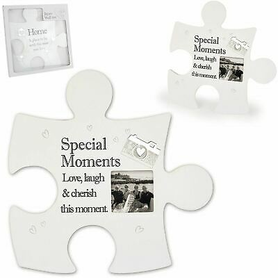£14.89 • Buy Said With Sentiment Special Moments Jigsaw Photo Frame Family Friends Gift Idea