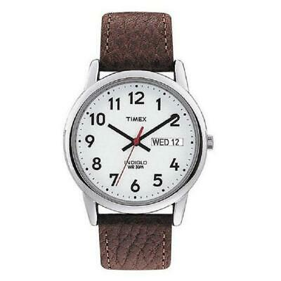 Timex Indiglo Easy Reader Day Date Mens Watch T20041 • 44.99£