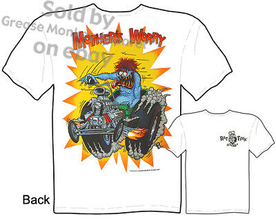£19.30 • Buy Worry Ratfink T Shirts Ford Shirt Hot Rod Clothes Big Daddy Clothing Ed Roth Tee