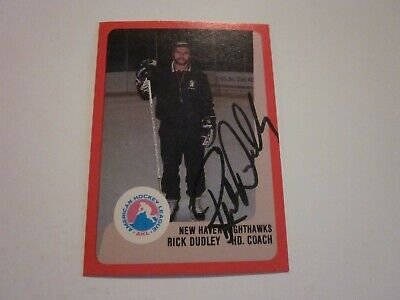 $10 • Buy Rick Dudley Signed Autographed 1988 Pro Cards Ahl Card- Coach New Haven