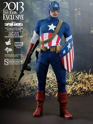 $ CDN396.65 • Buy Captain America~star Spangled Man~sixth Scale Figure~2013 Exclusive~hot Toys~mib