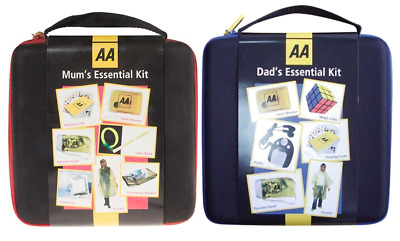 £8.99 • Buy AA - Mum And Dads Essential Travel Emergency Safety Car Kit His And Hers Gift