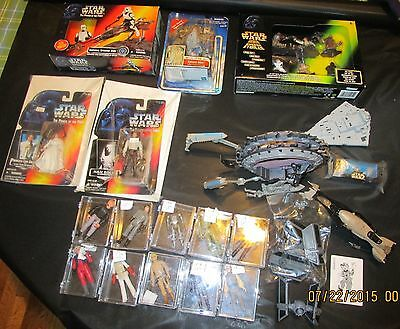 $ CDN251.87 • Buy Large Lot Of Vintage Star Wars Toys Figures Vehicles Most In Original Boxes Wow
