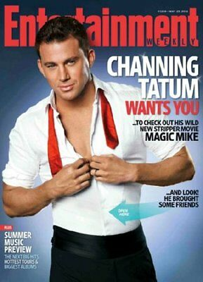 Channing Tatum Poster Entertainment Weekly Sexy Open Shirt 11x17 Mini Poster • 6.39£