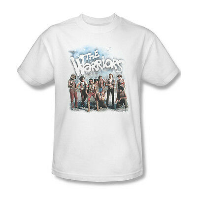 £19.63 • Buy The Warriors T-shirt Free Shipping Classic 1970s Movie Cotton White Tee PAR498