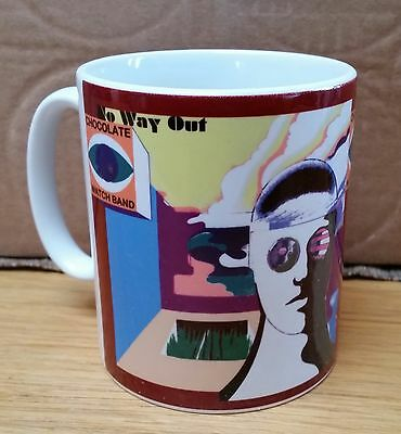 Chocolate Watch Band-no Way Out-earthenware/sublimated Lp Cover Coffee/tea Mug • 3.50£