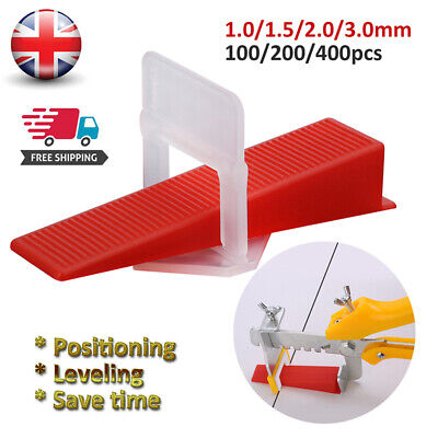 Stock Tile Leveling Spacer System Tool Wedges Pliers Tool Tiling  • 18.99£