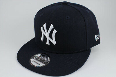 63297b903 New Era 9fifty Basic Snapback Hat Cap Mlb New York Ny Yankees Navy Blue  Adult •