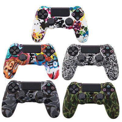AU3.99 • Buy Silicone Rubber Skin Case Gel Protective Cover For Playstation 4 PS4 Controller