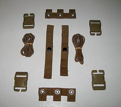 $14.52 • Buy Lot Of 2 USMC MTV MODULAR TACTICAL VEST SCALABLE PLATE CARRIER REPAIR KIT COYOTE