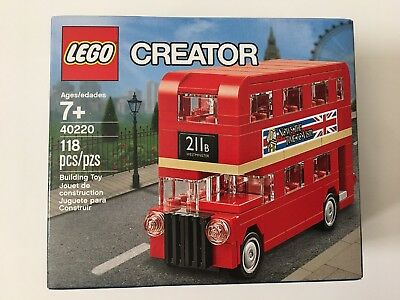 $ CDN25.45 • Buy New LEGO 40220 Creator London Double Decker Bus Sealed Free Shipping!