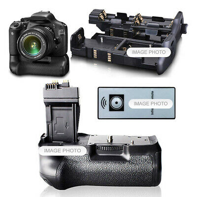 Battery Hand Grip For Canon 550D 600D 650D 700D Rebel T2I T3I T4I T5I + Remote • 85.42£