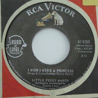 $ CDN7.93 • Buy Little Peggy March My Teenage Castle/I Wish I Were A Princess 45 RPM RCA Victor