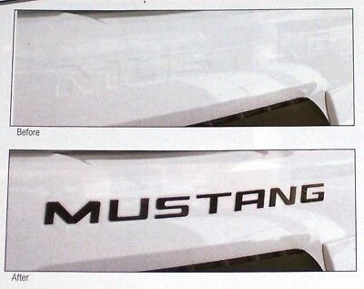 """$39.99 • Buy New 1987 - 2004 Ford Mustang Inc Gt 1/8"""" Thick Acrylic Bumper Lettering Kits!"""