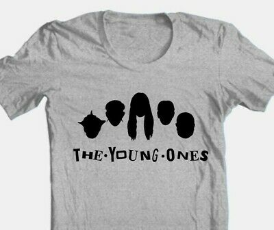 £14.38 • Buy Young Ones T-shirt Retro 1980s British TV Show Cotton Blend Graphic Grey Tee