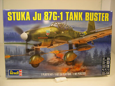 $14.99 • Buy Wwii German Stuka Ju 87g1 Tank Buster Revell 1:48 Scale Plastic Model Kit