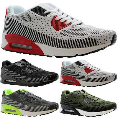 Ladies Running Air Shock Absorbing Trainers Women Jogging Fitness Gym Shoes Size • 16.99£