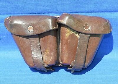 £19.99 • Buy Original Leather POUCH For MOSIN NAGANT Ammo Belt CASE #2